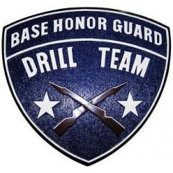 Drill Team Seal Plaque
