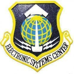 Electronic Systems Center Plaque