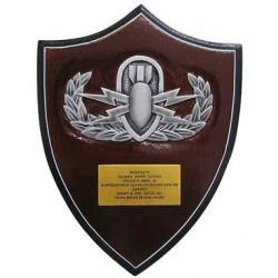Explosive Ordnance Disposal Presentation Plaque