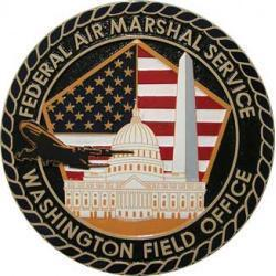 FAMS-WFO Federal Air Marshal Service Washington Field Office Plaque