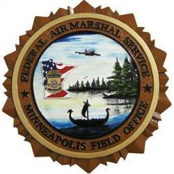 FAMS MFO Federal Air MArshal Service Minneapolis Field Office Plaque
