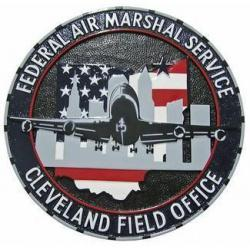 Federal Air Marshal Cleveland Field Office Seal Plaque