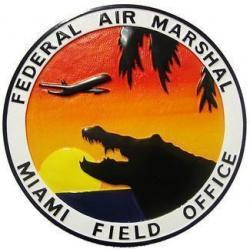 Federal Air Marshal Miami Field Office Seal Plaque