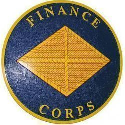 Finance Corps Seal Plaque