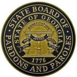 Georgia State Board of Pardons and Paroles Seal Plaque