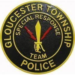 Gloucester Township Police Department Patch Plaque