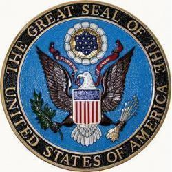 Great Seal Of the United States of America Plaque