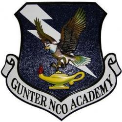 Gunter NCO Academy Seal Plaque