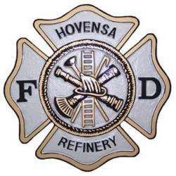 Hovensa Fire Department Seal Plaque