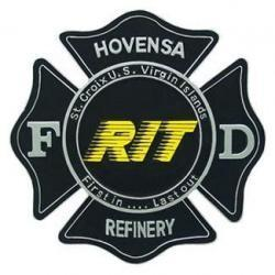 Hovensa RIT Seal Plaque