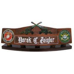 M198 Artillery Cannons Desk Nameplate
