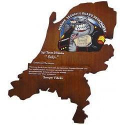 MSGD Presentation Plaque With Wordings
