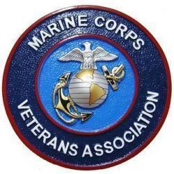 Marine Corps Veterans Association Seal Plaque
