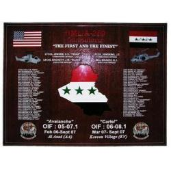 Marine Light Attack Helicopter Squadron 269 Deployment Plaque