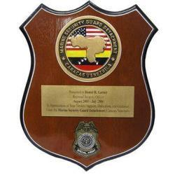 Marine Security Group Plaque