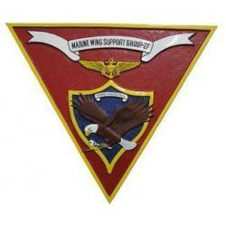 Marine Wing Support Group 27 Seal Plaque
