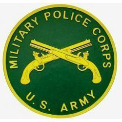 Military Police Corps Seal Plaque