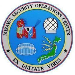 Misawa Security Operations Center Seal Plaque
