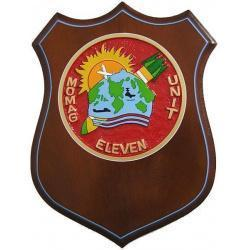 Momag Unit Eleven Shield Plaque