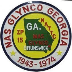 NAS Glynco GA Seal Plaque