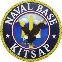 Naval Base Kitsap Seal Plaque