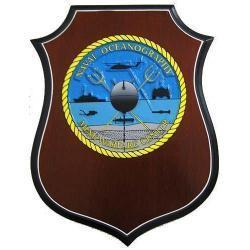 Naval Oceanography AA Shield Plaque