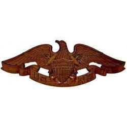 Naval Reserve Merchant Marine Insignia Wing Plaque