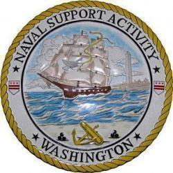 Naval Support Activity Washington Seal