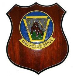 Navy AIMD Willow Grove Patch Plaque