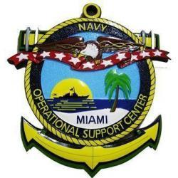Navy Operational Support Center Seal Plaque