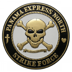 Panama Express North Strike Force Seal Plaque