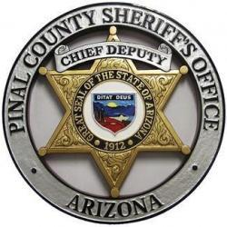 Pinal County Sheriff Office Badge Plaque