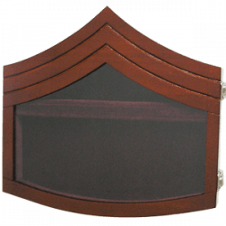 Shadow Box US Marine Corps E6 Natural Finish