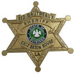 Sheriff Baton Rouge Badge Plaque