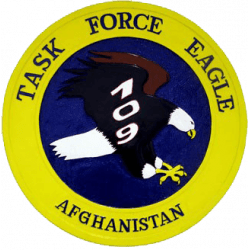 Task Force Eagle Army Deployment Plaque