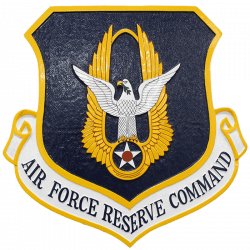 USAF Air Force Reserve Command Crest Plaque