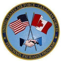 USAF Canadian Air Force Exchange Plaque
