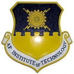 USAF Institute of Technology Crest Plaque