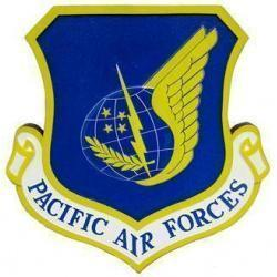 USAF Pacific Air Forces Plaque
