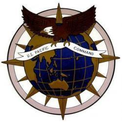 USAF Pacific Command Plaque