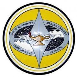 USAF School of Air and Space Studies Seal Plaque