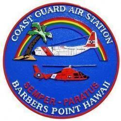 USCG Barbers Point Seal Plaque