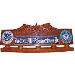 USCG Boat Forces Operations Desk Nameplate