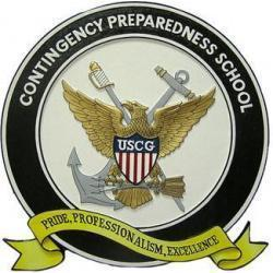 USCG Contingency Preparedness School Seal