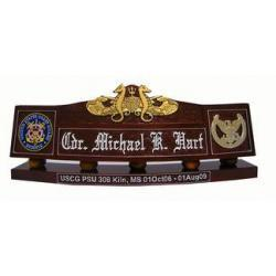 USCG Custom Desk Nameplate