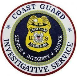 USCG Investigative Service Seal Plaque