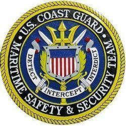 USCG Maritime Safety Security Seal Plaque