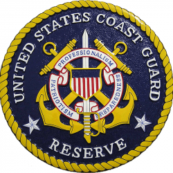 USCG Reserve Seal Plaque