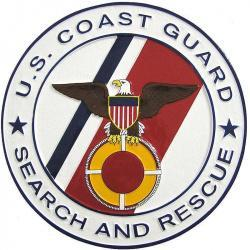 USCG Search and Rescue Plaque