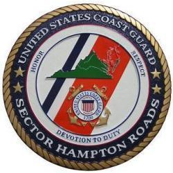 USCG Sector Hampton Roads Seal Plaque